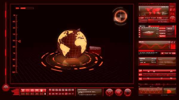 HighTech Interface - Red Alert