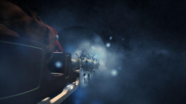 Reindeers In Space