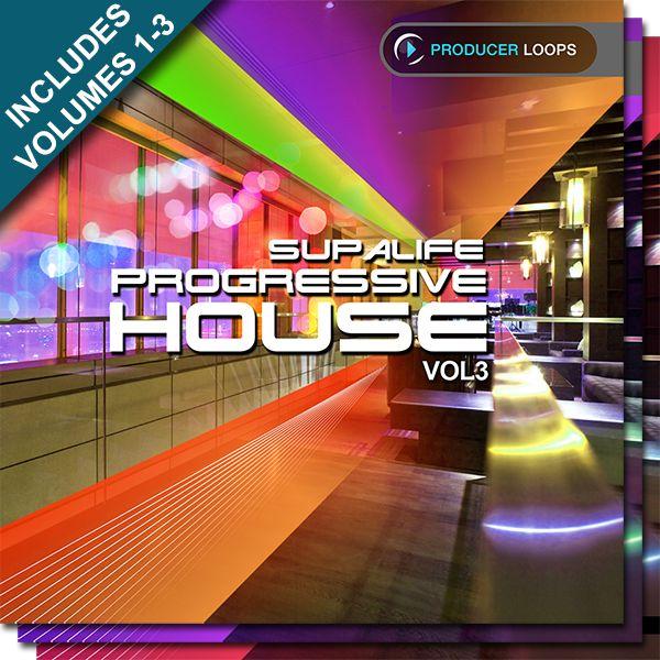 Supalife Progressive House Bundle (Vols 1-3)