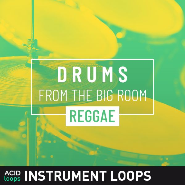 Drums from the Big Room - Reggae