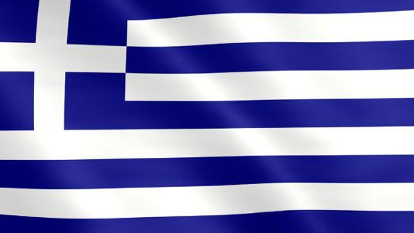 Animierte Flagge von Griechenland
