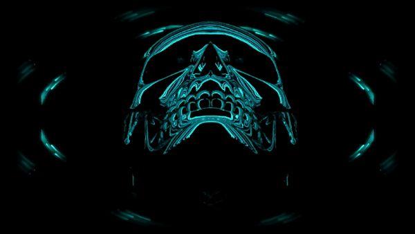 Skull Animation 3