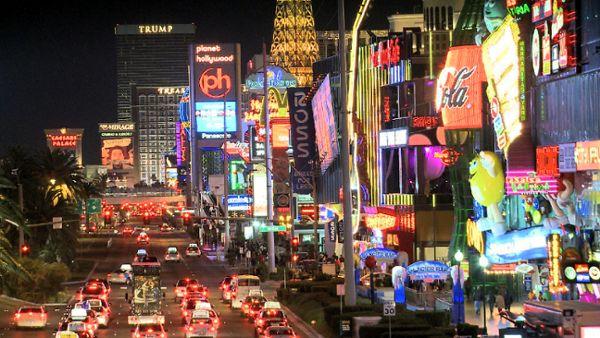 Neon Lights in Vegas
