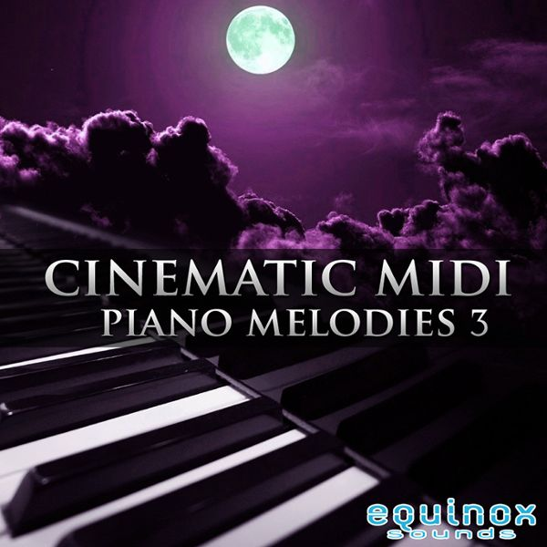 Cinematic MIDI Piano Melodies 3