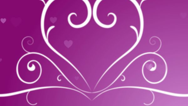 Looping Hearts Grow Background