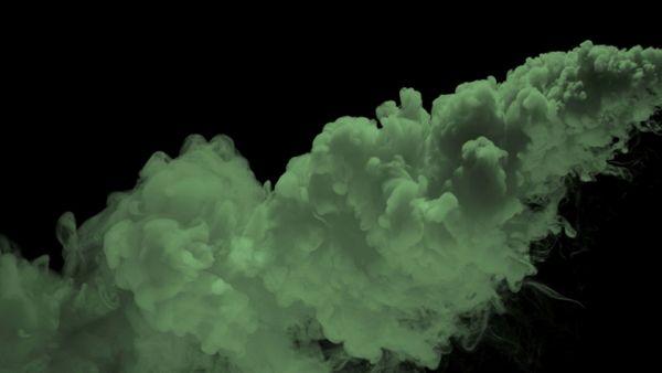 Flowing Green Smoke