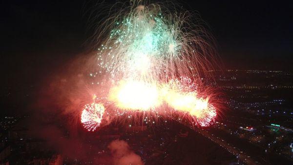 Fireworks in Kiyv Show