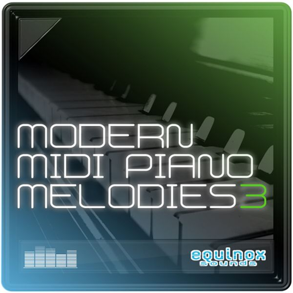 Modern MIDI Piano Melodies 3