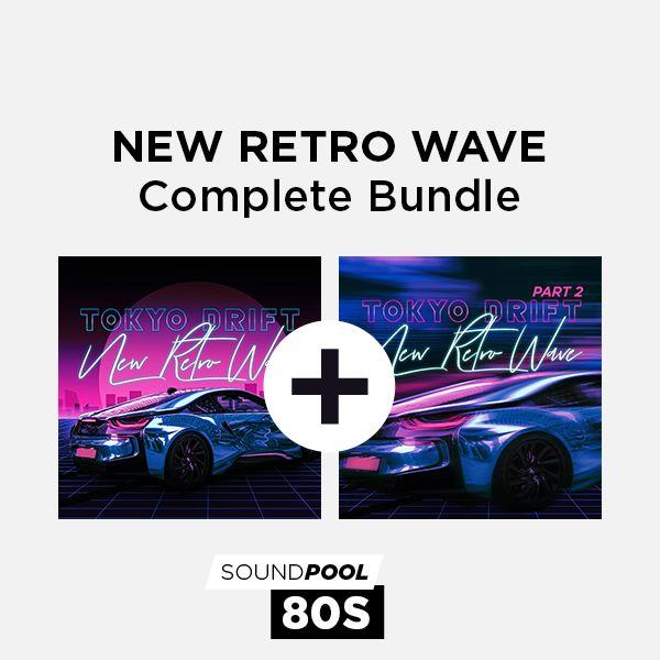 Tokyo Drift - New Retro Wave - Complete Bundle