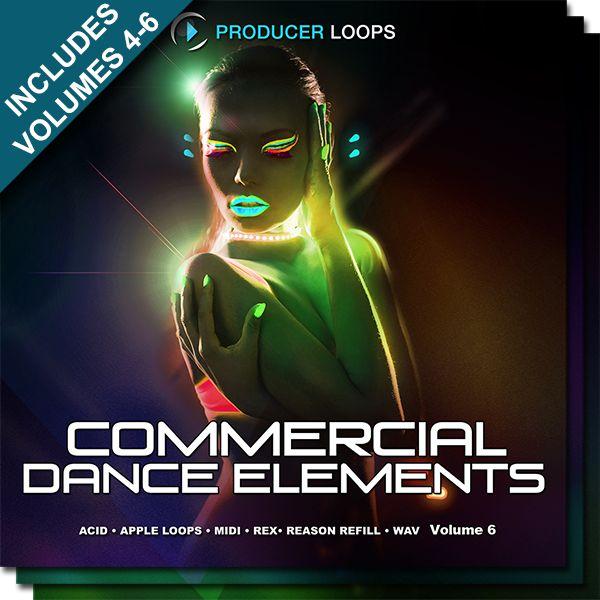 Commercial Dance Elements Bundle (Vols 4-6)
