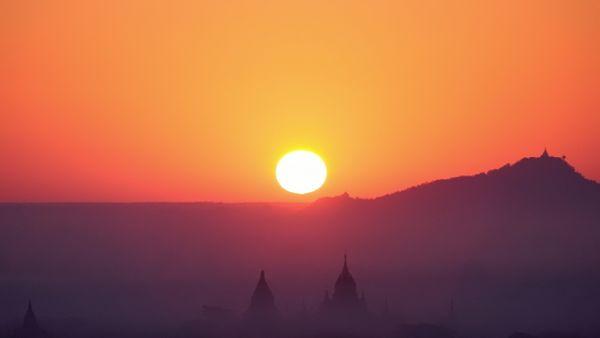Ancient City Sunrise