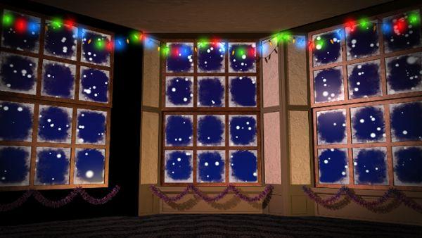 Christmas Window HD