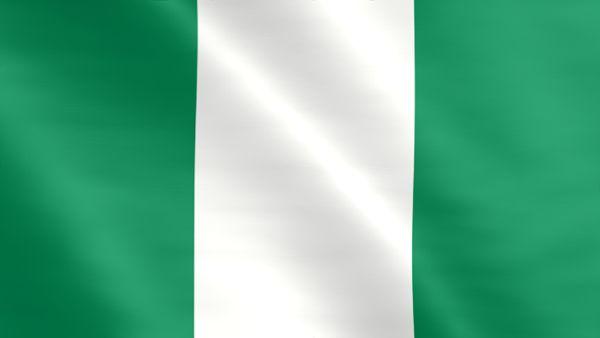 Animierte Flagge von Nigeria