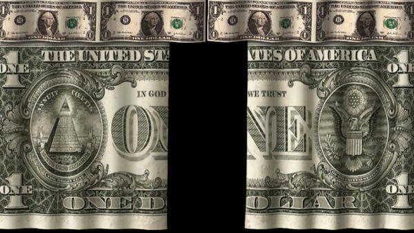 Dollar Curtain Scene