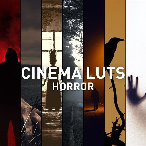 Cinema LUTs Horror